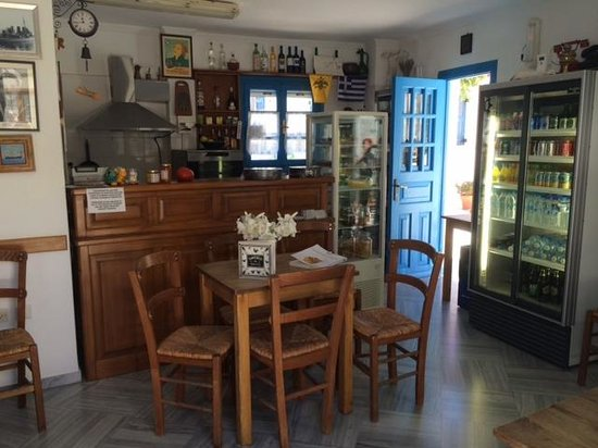 Kafeneio Marigos : Inside