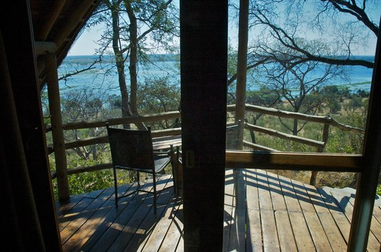 Muchenje Safari Lodge: View from our room