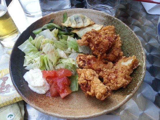 Okawali: Du poulet frit (c'est pas du KFC!!!)