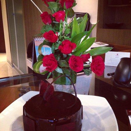 Trident, Bandra Kurla, Mumbai: Spoiled at the Trident on my birthday. Thanks to the staff. Wow!  Amazing service!!!!
