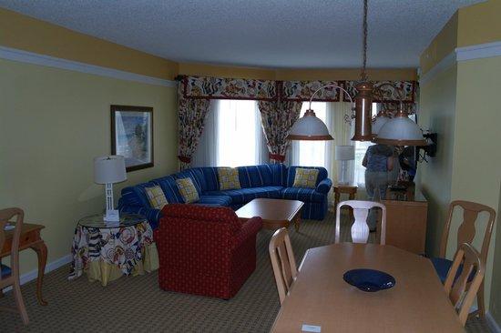 Marriott's Cypress Harbour Villas : Comfortable living room