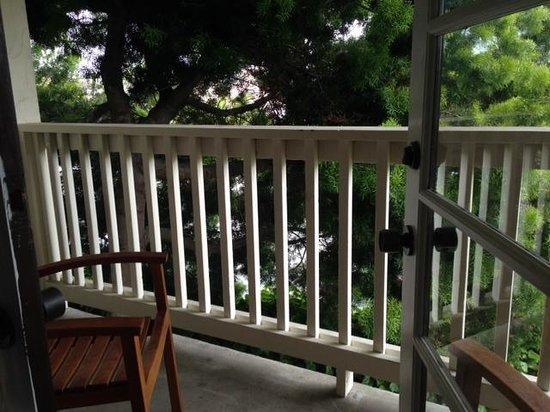 Casa Munras Garden Hotel & Spa : Private balcony at Casa Munros
