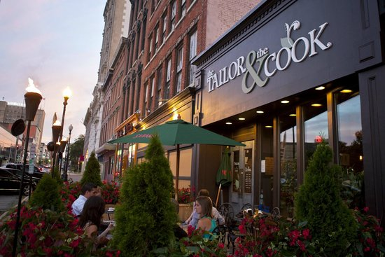 The Tailor and The Cook: The Patio