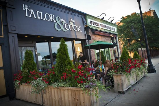 The Tailor and The Cook: Patio