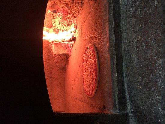 Ai due Leoni : forno a legna