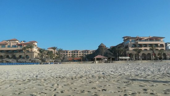 Royal Solaris Los Cabos : view of hotel from beach