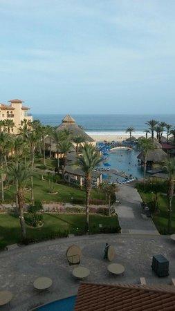 Royal Solaris Los Cabos : view from Deluxe Ocean View room (5th floor)