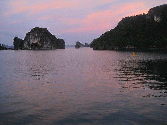 Vega Travel: Halong Bay at Sunset