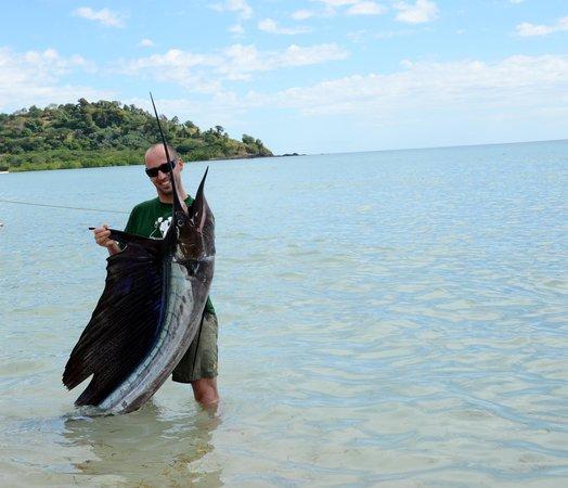 Andilana Beach Resort : a pesca con jacopo