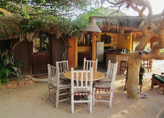 Baja Bungalows: Open Palapa Suite Kitchen