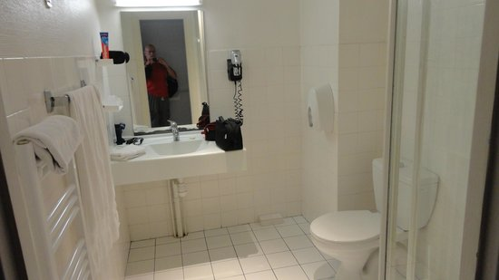 Hôtel Le Royal : Badrum med dusch