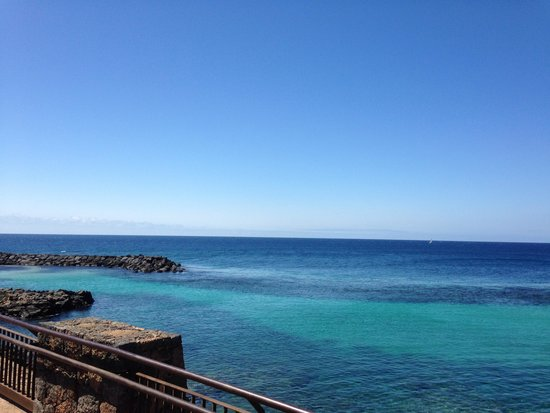 Santa Rosa: What better view on a sunny Costa Teguise day could you want?
