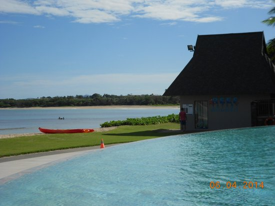 InterContinental Fiji Golf Resort & Spa: Pool view