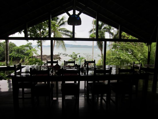 Aguila de Osa: Restaurant View