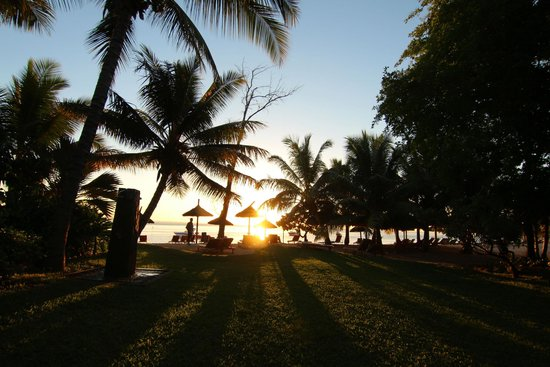 Heritage Awali Golf & Spa Resort : We had sunsets like this every night