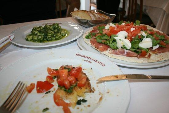 Ristorante Pizzeria Sabatini : Lunch