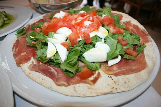 Ristorante Pizzeria Sabatini : Pizza Focaccia
