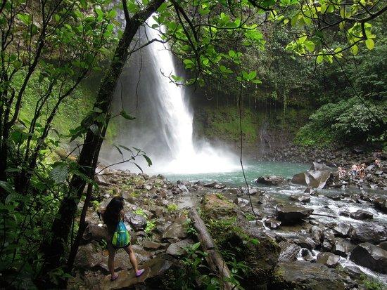Arenal Mundo Aventura : La Fortuna waterfall