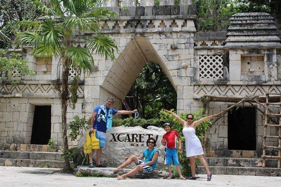 Xcaret Eco Theme Park: Xcaret Entrance