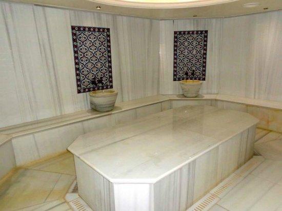 El Aurassi Hotel: Hammam