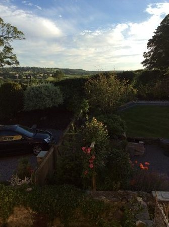 Plas Farmhouse B & B: view from our window - lovely