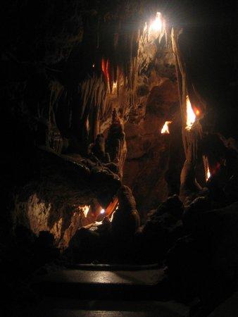 Saint Cézaire Caves: Ombres et Lumière...