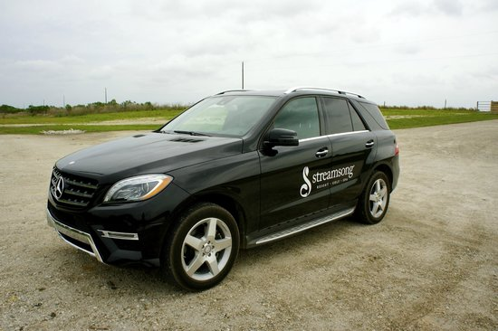 Streamsong Resort: Mercedes vehicles to shuttle you around property