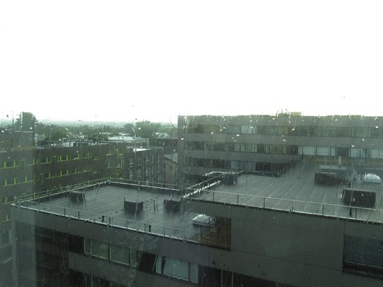 Park Inn by Radisson Meriton Conference & Spa Hotel Tallinn: On a rainy day view from 7th floor room