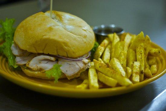 Rustico Bistro: Roasted Pork sandwich