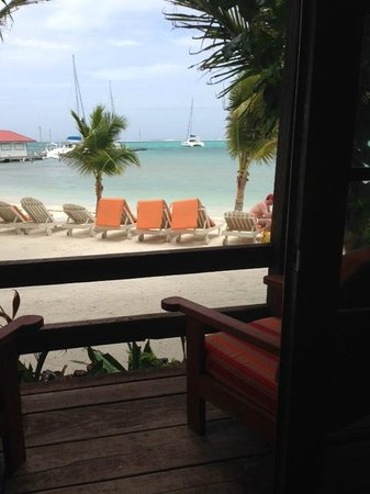 Ramon's Village Resort : The view from our beach from room!