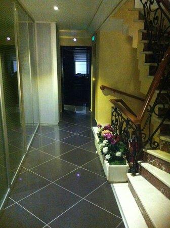 Elan Hotel: la scala