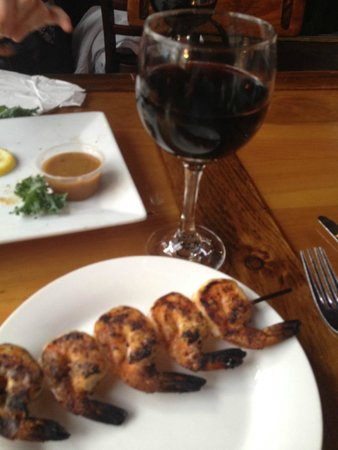 Yucatan Beach Stand Bar : Blackened Shrimp Appetizer