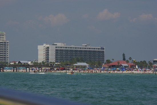 Hilton Clearwater Beach : View from the Sea Screamer