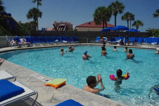 Hilton Clearwater Beach : Aqua Zumba