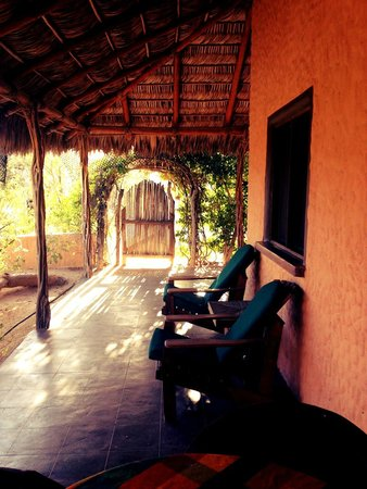 Baja Bungalows : Patio