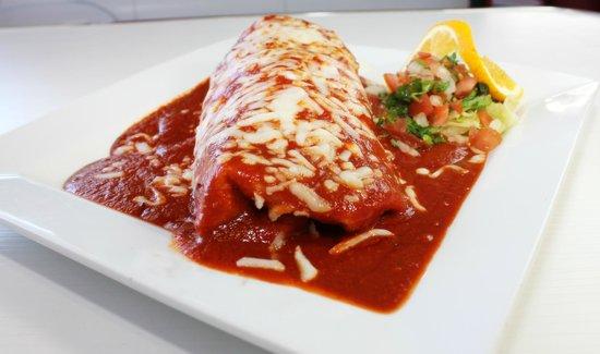 Jovi's Diner: wet burrito
