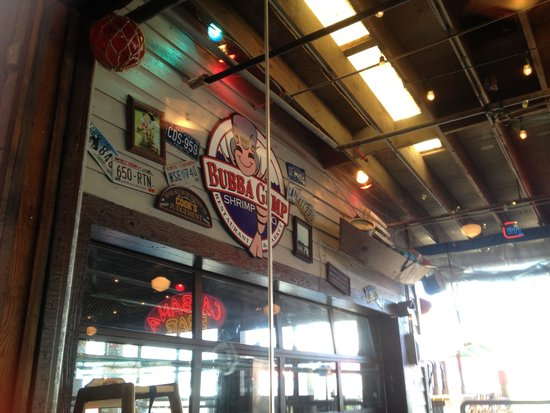 Bubba Gump Restraunt at Kemah Boardwalk