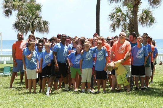 El Caribe Resort and Conference Center: Youth Retreat Group Photo