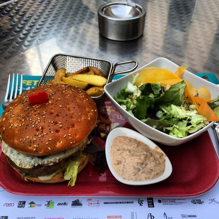 Les 3 Sifflets: New hamburger au top