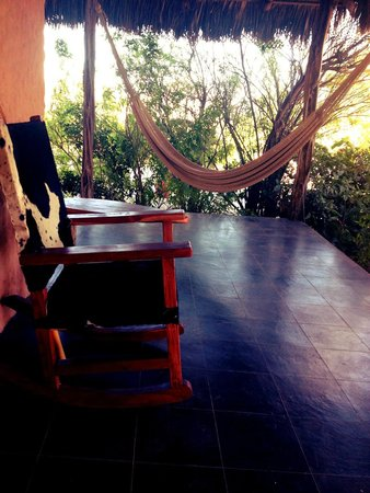 Baja Bungalows: Patio main house Lower level