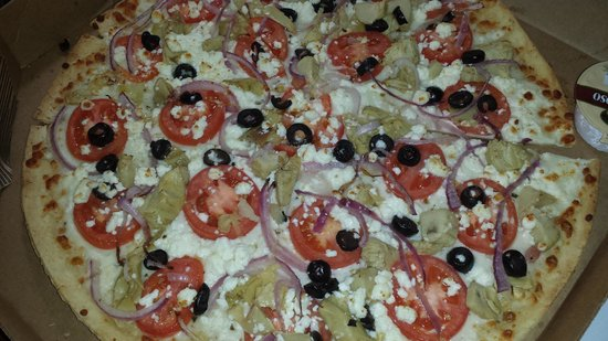 awesome greek pizza picture of buck 39 s pizza charleston. Black Bedroom Furniture Sets. Home Design Ideas