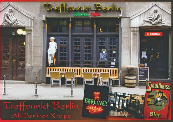 carte fotograf a de treffpunkt berlin alt berliner kneipe berl n tripadvisor. Black Bedroom Furniture Sets. Home Design Ideas