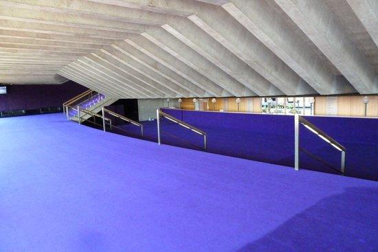 Sydney Opera House : intérieur opéra