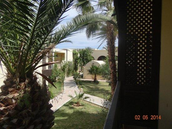 Hotel Paradis Palace : Вид из номера
