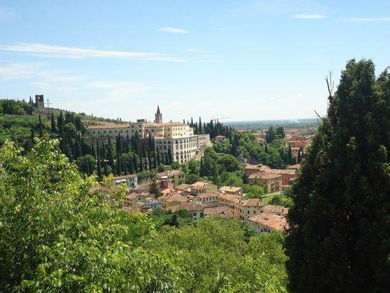 Piazzale Castel San Pietro: view