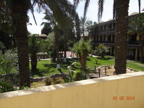 Hotel Paradis Palace : Вид перед номером