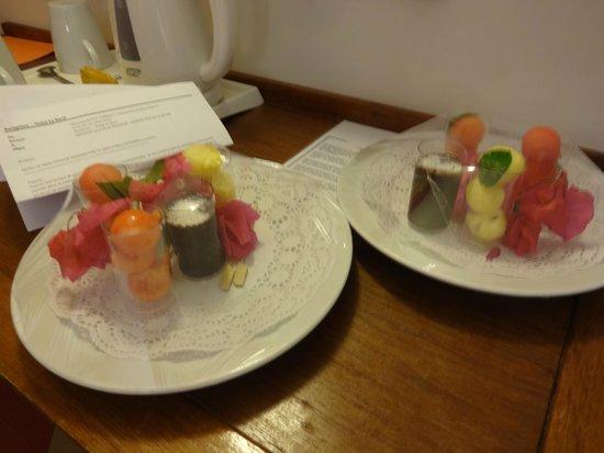 Hotel Le Recif : petite surprise pour mon anniversaire