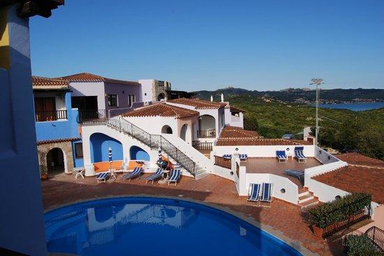 Hotel Li Graniti : vista desde la ventana de la habitación