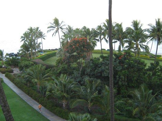 Wailea Beach Resort – Marriott, Maui: The beautiful view from our balcony