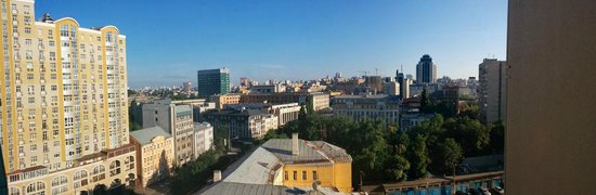 Holiday Inn Kiev : View from room 919